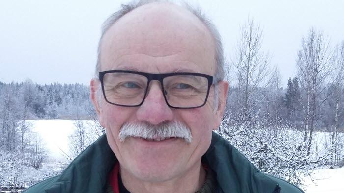 Roland Blixt, kommungruppsordförande i Oskarshamns kommun och engagerad i Redig mat från trakten-samarbetet