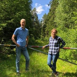 Erik Evestam och Martina Philip