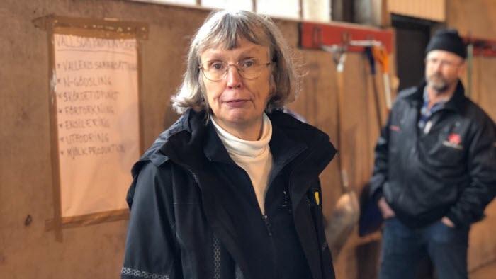 Elisabet Nadeau SLU pratade om vall som proteinfoder