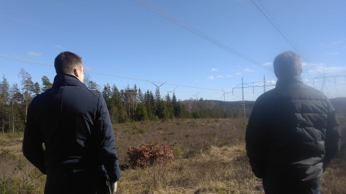 400 kV-ledningen mellan Horred och Breared