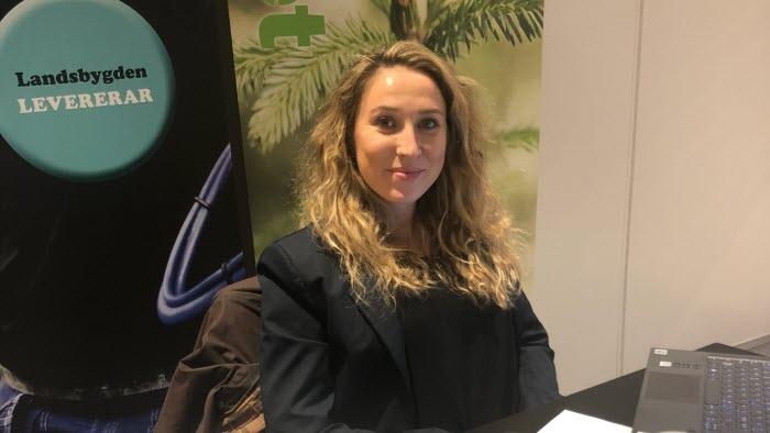 Elisabeth Hidén, som vice ordförande på LRF Värmlands stämma 2021