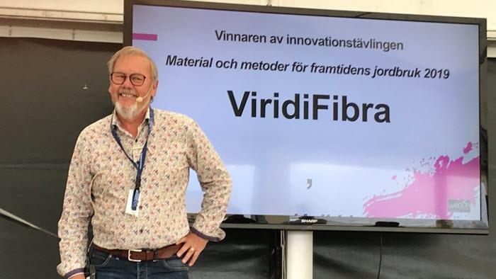Innovatör Heikki Sojakka från företaget Fiber-X i Markaryd