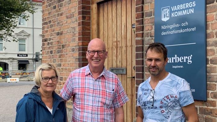 Möte i Varberg med ledningen för miljö och hälsa augusti 2019