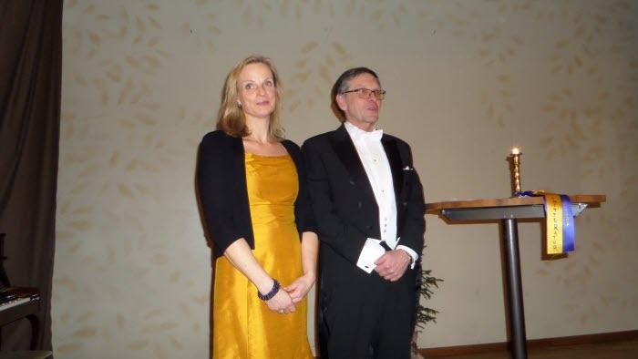 Anna Samuelsson och Bosse Arvidsson