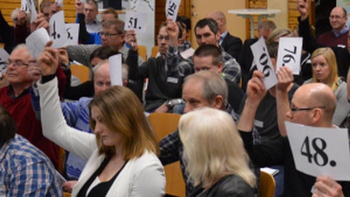 Regionstämma votering Halland 2017