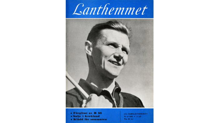 Lanthemmet, LRFs historia