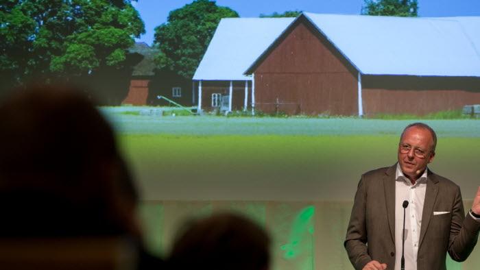 VD Anders Källström talar på riksförbundsstämman
