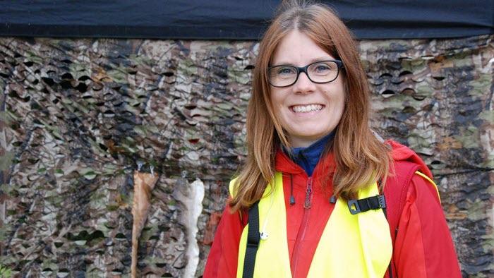 Annika Häggmark, anställd vid LRF Västerbotten