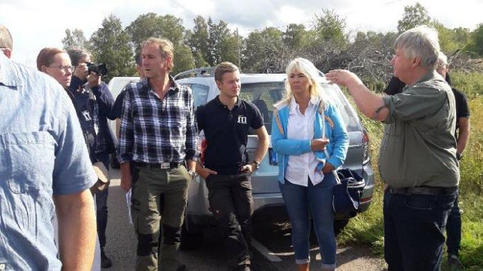 Politikerträff vid Hornborgasjön aug18