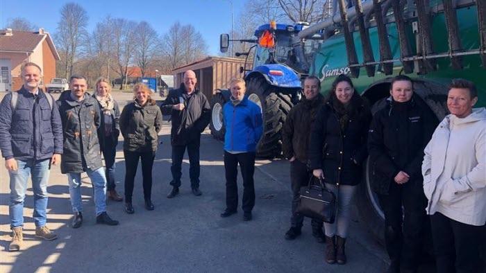 Träff med politiker på Munkagårdsgymnasiet