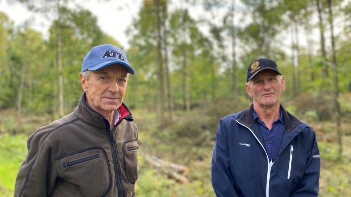 Per-Olof Johansson och Hans Göransson