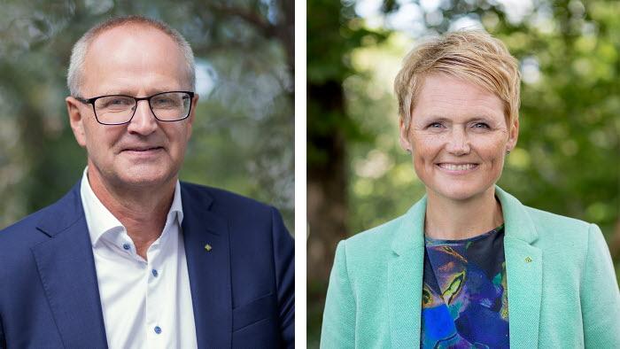LRFs förbundsordförande Palle Borgström och VD Anna Karin Hatt intervjuas flitigt i media under covid-19-pandemin