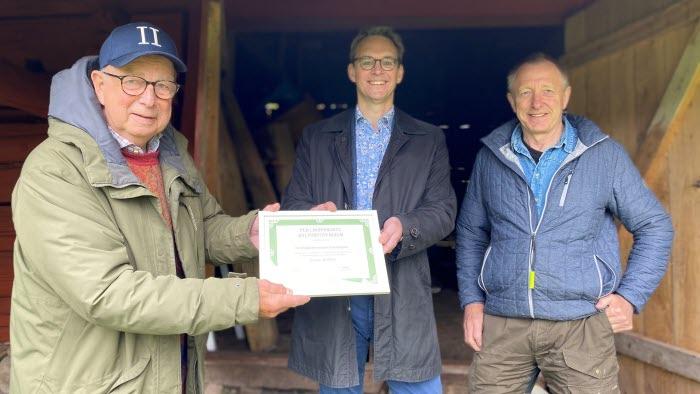 Kent Kent Christensson, Sotenäsgillet, Martin Gustavsson, LRF VG och Håkan Christensson, Sotenäs LRF