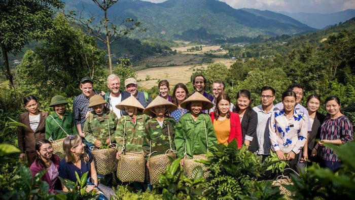 Gruppbild Vietnamn We effect