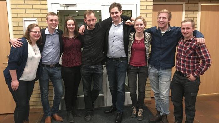 LRF Ungdom Sydost efter årsmötet  november 2017