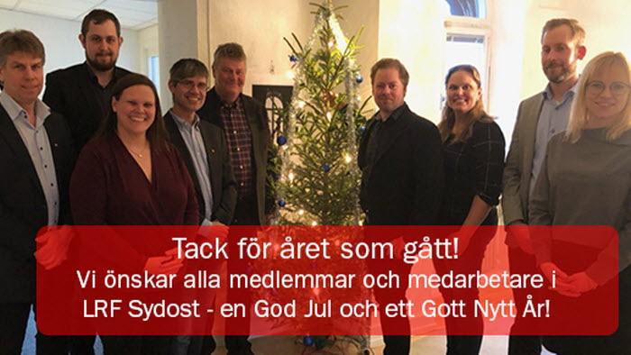 Julhälsning Sydost 2019