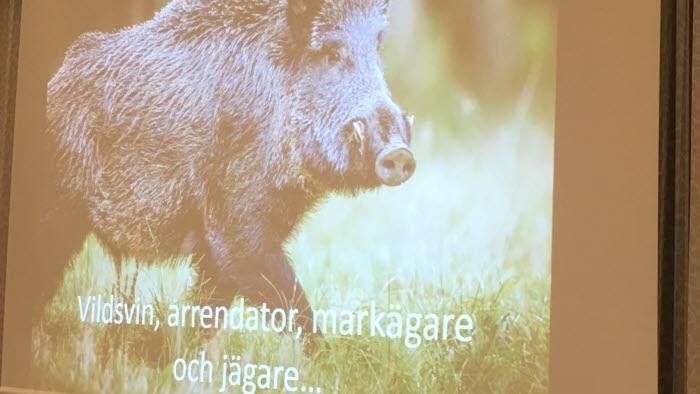 Möte om viltskador och juridik, Vreta Kluster 15 oktober 2018