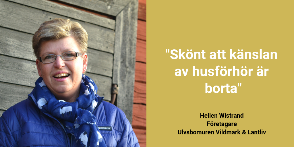 God myndighetsutövning - Twitter, Hellen Wistrand