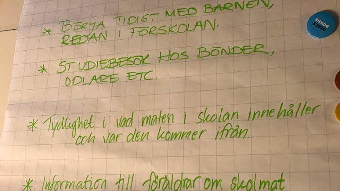 Maten skolan och bönderna Dialogdag Hagfors