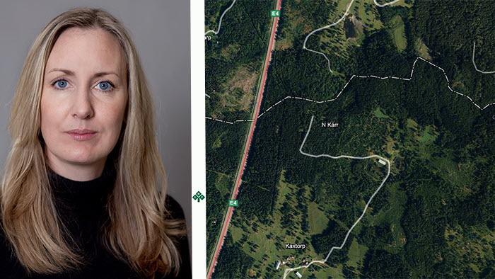 Norra Kärr, strax norr om Gränna vid Vättern, är ett av 600 ställen som företagare vill leta efter mineraler. Åsa Hill är LRFs expert.