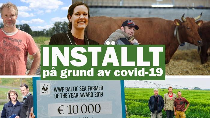WWF ställer in Årets Östersjöbonde på grund av covid-19