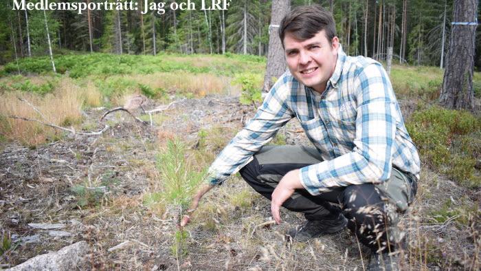 Medlemsporträtt, engagemang och driv med Carl-Wiktor Svensson för skogsfrågorna