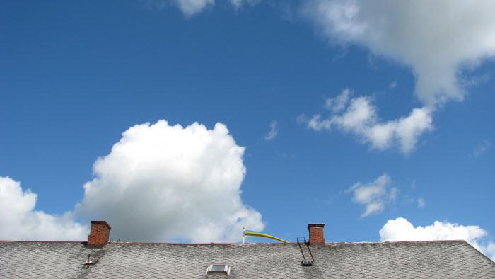 Hustak och himmel