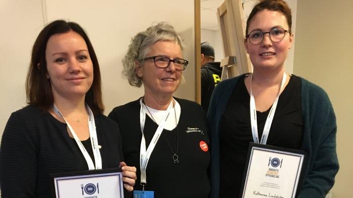 dLRF:s diplom för Innovativ svensk matupphandling 2018