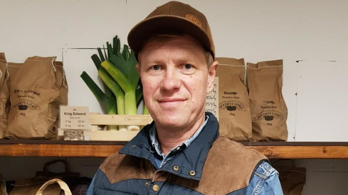 Hållbar lantbrukare i Skedevi