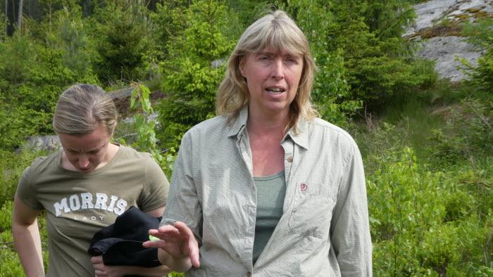 Anna Åman från LRF Östergötland pratar skog och vilt