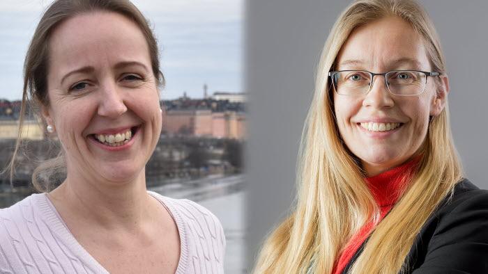 LRF Mjölks experter Victoria Thuillier och Anki Sundin