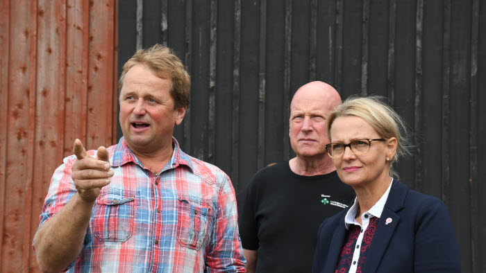 Stefan Warefelt, Anders Richardsson, Helene Fritxon