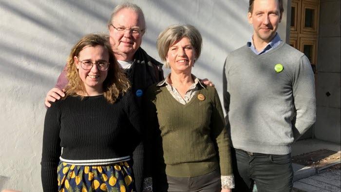 Karin Larsson, Bengt Spider Jansson, Margareta Malmquist, Anders Edling