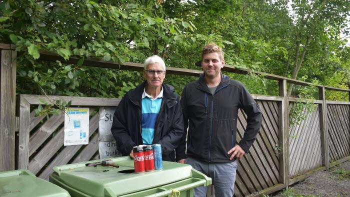 Roger Hagelberg och Alexander Bernhard, Lerdala IF